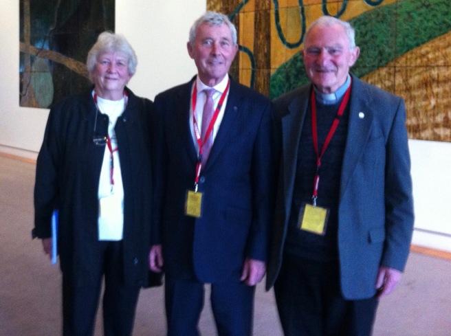 28 July Parliament, Susan, Bernard, Pat Power